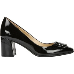 Naturalizer Women's Winona Pump Shoes in Black Patent, Size 6.5 Wide found on Bargain Bro India from ts.townshoes.ca for $60.93