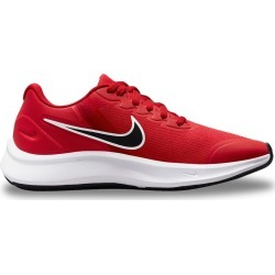 Nike Youth Boy's' Star Runner 3 Lace-Up Sneaker Shoes in University Red/Black, Size 5 Medium found on Bargain Bro Philippines from ts.townshoes.ca for $47.39