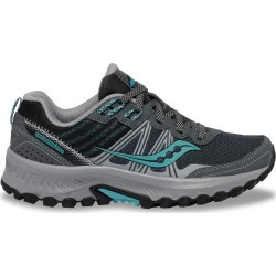 Saucony Women's Excursion Tr14 Trail Sneaker Shoes in Charcoal/Marine, Size 10 Medium found on Bargain Bro Philippines from ts.townshoes.ca for $78.21