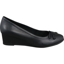Hush Puppies Women's Wedge With Bow Shoes in Black, Size 7 Wide found on Bargain Bro India from ts.townshoes.ca for $50.77