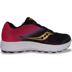 Saucony Women's Versafoam Ignite 2 Runner Shoes in Black/Gold/Pink, Size 8 Medium found on Bargain Bro Philippines from ts.townshoes.ca for $79.00