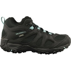 Merrell Women's Mid-Top Hiker Gtx Shoes in Black, Size 7 Medium found on Bargain Bro Philippines from ts.townshoes.ca for $120.69