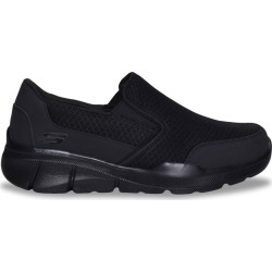 Skechers Men's Equalizer 3.0 Slip-On Sneaker - Extra Wide Width Shoes in Black, Size 12 found on Bargain Bro India from ts.townshoes.ca for $70.71