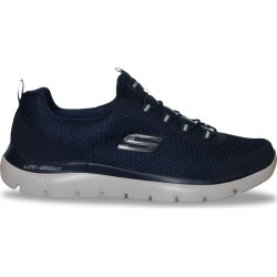Skechers Men's Summits Repinski Sneaker Shoes in Navy Blue, Size 9 Medium found on Bargain Bro Philippines from ts.townshoes.ca for $63.53
