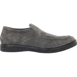 Hush Puppies Men's Jaden Slip-On Shoes in Grey Suede, Size 10 Medium found on Bargain Bro India from ts.townshoes.ca for $94.30