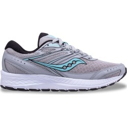 Saucony Women's Cohesion 13 Sneaker Shoes in Grey, Size 7 Medium found on Bargain Bro India from ts.townshoes.ca for $61.66
