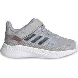 Adidas Toddler Boy's Runfalcon 2 Sneaker Shoes in Grey/Navy Blue/Silver, Size 6 Medium found on Bargain Bro Philippines from ts.townshoes.ca for $39.44