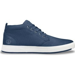 Timberland Men's Davis Square Chukka Sneaker Shoes in Navy Blue Leather, Size 12 Medium found on Bargain Bro India from ts.townshoes.ca for $76.16