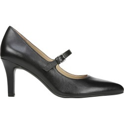 Naturalizer Women's Elora Mary Jane Pump Shoes in Black Leather, Size 7 Medium found on Bargain Bro Philippines from ts.townshoes.ca for $83.47