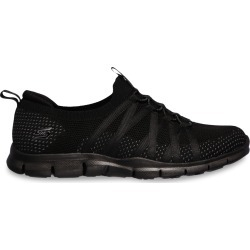 Skechers Women's Gratis Chic Newness Sneaker Shoes in Black, Size 7 Medium found on Bargain Bro India from ts.townshoes.ca for $66.78