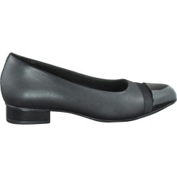 Clarks Women's Juliet Monte Low Heel Pump Shoes in Black, Size 6 Medium found on Bargain Bro India from ts.townshoes.ca for $76.97