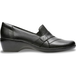 Clarks Women's May Marigold Slip-On Shoes in Black, Size 8 Medium found on Bargain Bro Philippines from ts.townshoes.ca for $76.16