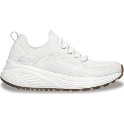 Skechers Women's Bobs Sport Sparrow 2.0 Allegiance Crew Sneaker Shoes in Off White, Size 7.5 Medium found on Bargain Bro Philippines from ts.townshoes.ca for $71.47