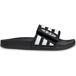 Adidas Youth Boy's Adilette Comfort Slide Sandal in Black, Size 2 Medium found on Bargain Bro from ts.townshoes.ca for USD $25.26