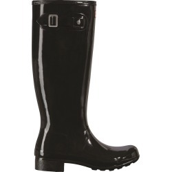 Hunter Women's Original Tour Gloss Boot in Black, Size 5 Medium found on MODAPINS from ts.townshoes.ca for USD $134.44