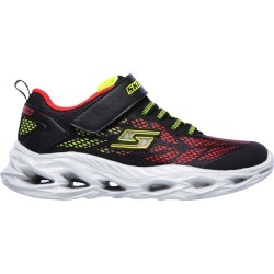 Skechers Youth Boy's Vortex Flash Runner Shoes in Black, Size 2 Medium found on Bargain Bro India from ts.townshoes.ca for $43.21