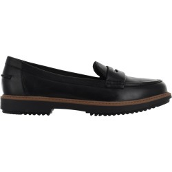 Clarks Women's Raisie Eletta Loafer Shoes in Black, Size 6.5 Medium found on Bargain Bro India from ts.townshoes.ca for $76.97