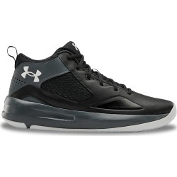Under Armour Men's UA Lockdown 5 Basketball Sneaker Shoes in Black/Pitch Grey/Halo Grey, Size 12 Medium found on Bargain Bro India from ts.townshoes.ca for $62.82