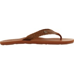 Roxy Women's Lola II Flip-Flop Sandals in Tan, Size 7 Medium