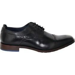 Stacy Adams Men's Raiden Oxford Shoes in Black Leather, Size 13 Medium found on Bargain Bro India from ts.townshoes.ca for $98.14