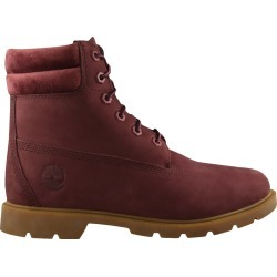 Timberland Women's Linden Woods Waterproof Boot in Burgundy, Size 7 Medium found on Bargain Bro India from ts.townshoes.ca for $121.87