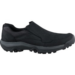 Merrell Men's Anvik Pace Slip-On Shoes in Black Leather, Size 9.5 Medium found on Bargain Bro India from ts.townshoes.ca for $79.96