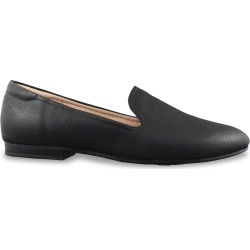 Natural Soul Women's Alexis Loafer Shoes in Black, Size 7 Wide