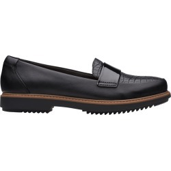 Clarks Women's Raisie Arlie Loafer Shoes in Black, Size 7 Medium found on Bargain Bro India from ts.townshoes.ca for $76.97