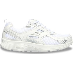 Skechers Women's Gorun Consistent Running Shoes - Wide Width in White/Silver, Size 7.5 found on Bargain Bro Philippines from ts.townshoes.ca for $63.53