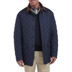 Big & Tall Brooks Brothers Field Coat with Tartan Lining - Mood Indigo - Size 4XT
