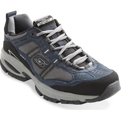 Big & Tall Skechers Vigor Insight Sneakers - Charcoal - Size 140 W found on GamingScroll.com from Destination XL for $69.00