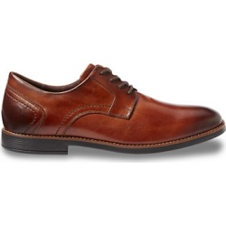Big & Tall Rockport Slayer Plain Toe Oxfords - Cognac found on Bargain Bro India from Destination XL for $110.00