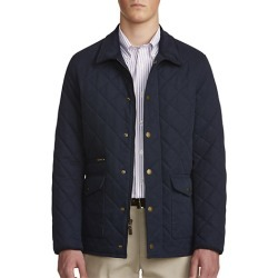 Big & Tall Brooks Brothers Water-Resistant Field Coat - Navy - Size 2X