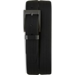 Big & Tall Harbor Bay Black Leather Belt