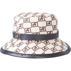 alberta ferretti cap with logo print found on Bargain Bro UK from Eleonora Bonucci