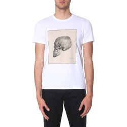 alexander mcqueen t-shirt with skull print found on Bargain Bro UK from Eleonora Bonucci