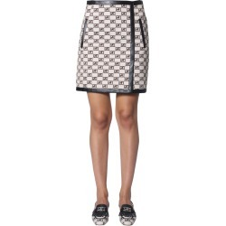 alberta ferretti logo story jacquard skirt found on Bargain Bro UK from Eleonora Bonucci