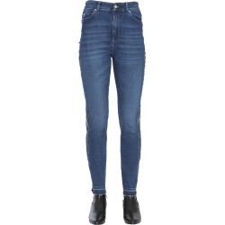 alexander mcqueen jeans with side band found on Bargain Bro UK from Eleonora Bonucci