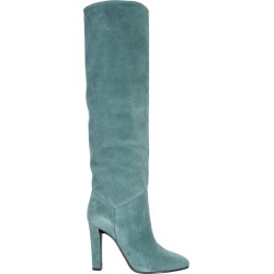 alberta ferretti suede high boots found on Bargain Bro UK from Eleonora Bonucci