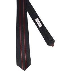 alexander mcqueen tie with logo band found on Bargain Bro UK from Eleonora Bonucci