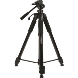 Polaroid 184 cm Photo / Video ProPod Tripod Includes Deluxe Tripod Carrying Case + Additional Quick Release Plate For Digital Cameras & Camcorders found on Bargain Bro from  for $41.99
