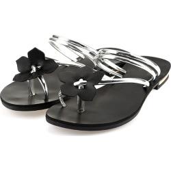 Flower Cross Flat Sandals