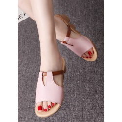 Summer Hollow Out Sandals