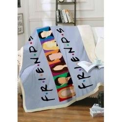 TV Show Friends Plush Blanket