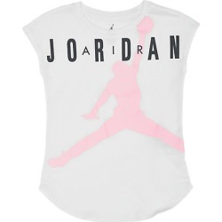Jordan Girls' Air T-Shirt, Black found on MODAPINS from Finish Line for USD $25.00