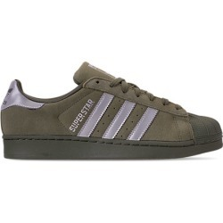 Adidas Men's Superstar Reflective Casual Shoes, Green found on MODAPINS from Finish Line for USD $79.99