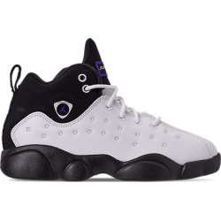 Nike Boys' Little Kids' Jordan Jumpman Team II Basketball Shoes, White/Black found on MODAPINS from Finish Line for USD $40.00