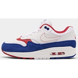 Nike Men's Air Max 1 Patriotic Casual Shoes, White found on MODAPINS from Finish Line for USD $120.00