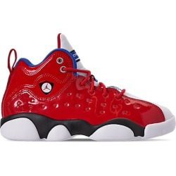 48dcffa59913 Nike Jordan Jumpman Hustle PF White Infrared 23 Men Basketball Shoes ...
