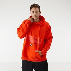 Adidas Men's Originals R.Y.V Hoodie in Red Size Large Cotton/Fleece